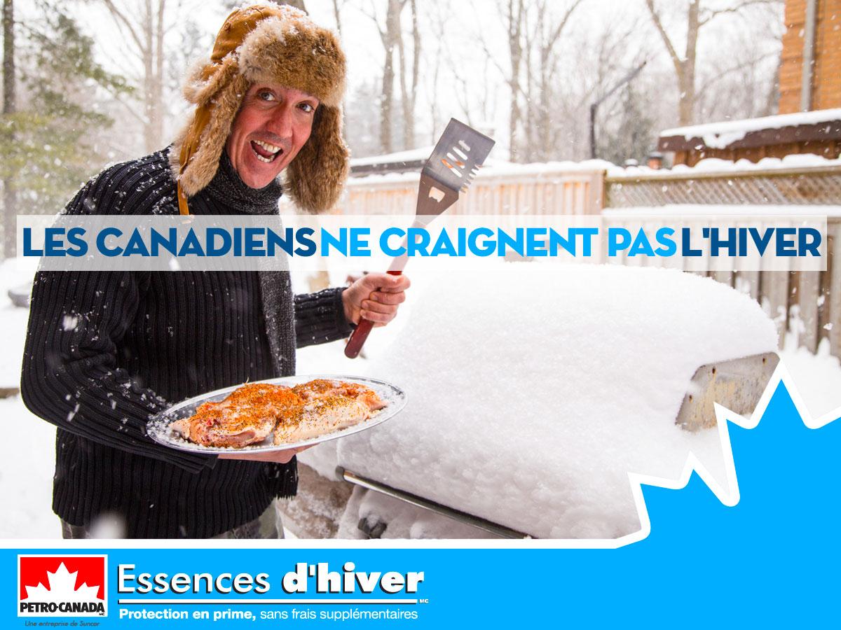 L'hiver canadien et les Essences d'hiver vont de pair