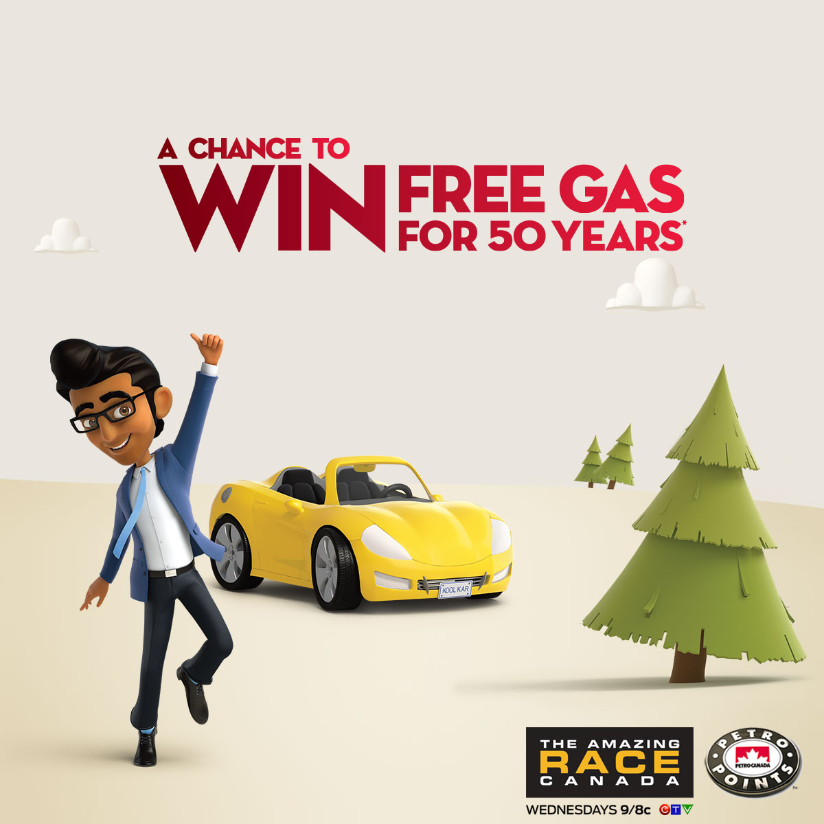 Petro-Canada Free Gas for 50 Years Contest