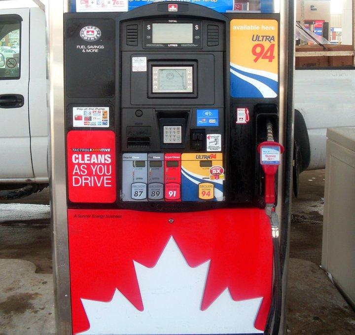 Petro-Canada pump