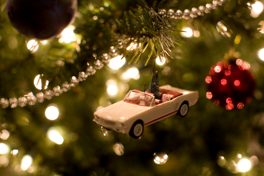 Car christmas ornament