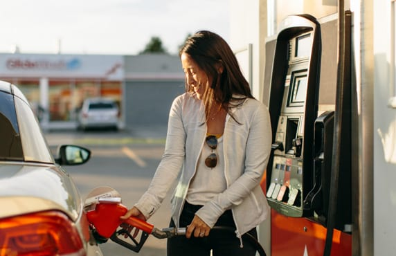 Pumping Gas at Petro-Canada