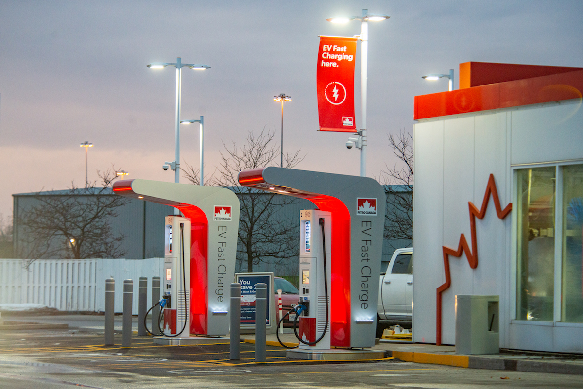 Petro-Canada EV Fast Charging Station