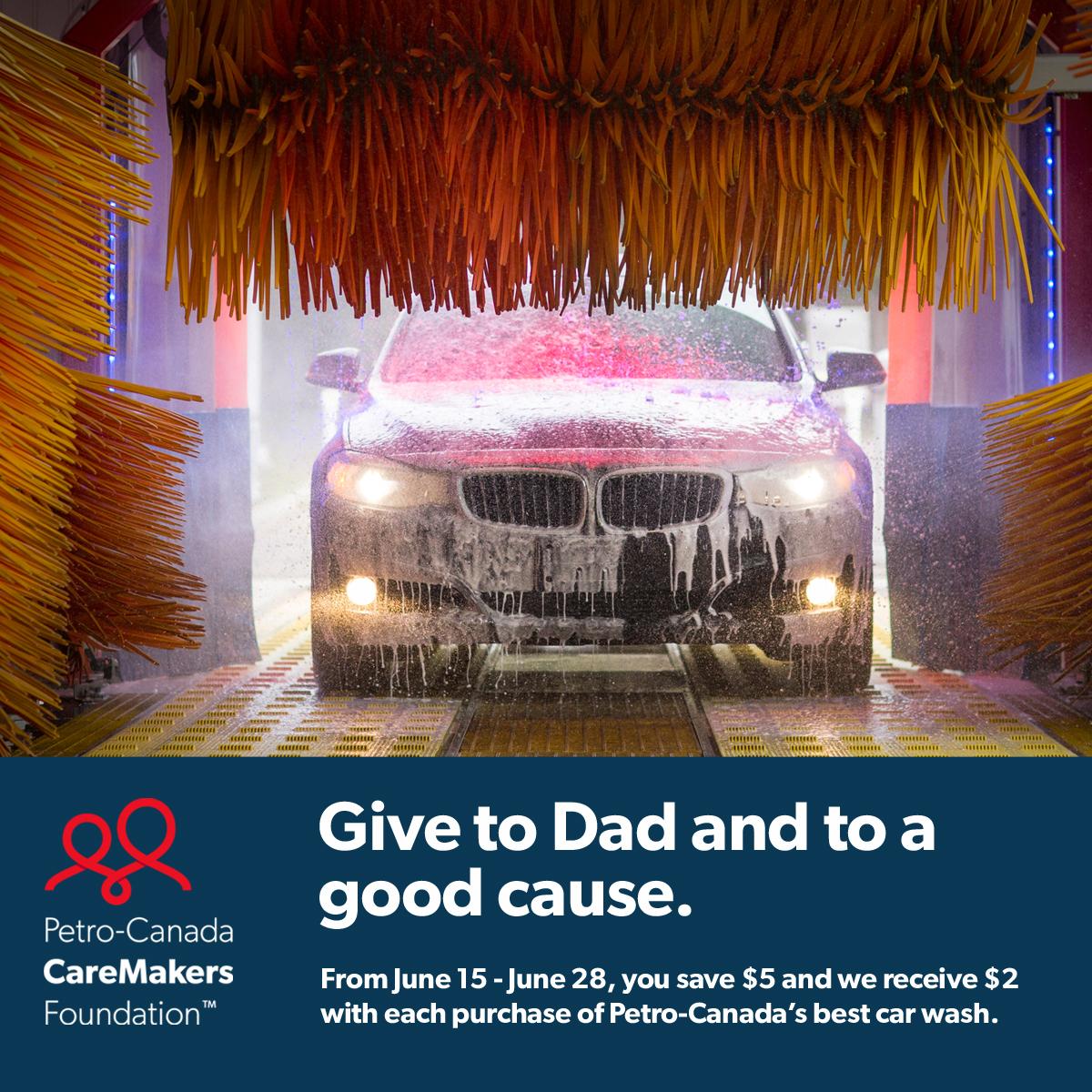 Petro-Canada CareMakers Car Wash Promotion