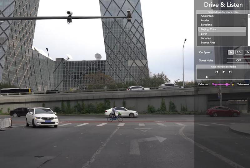 Drive and Listen - Beijing