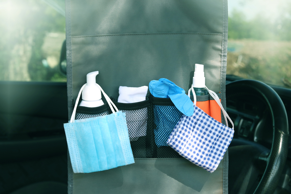 Cleaning Kit in Your Car