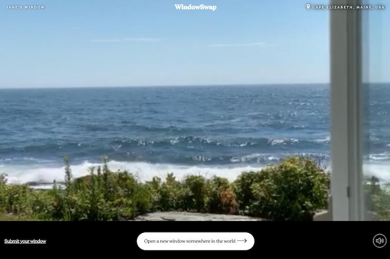 WindowSwap - Maine