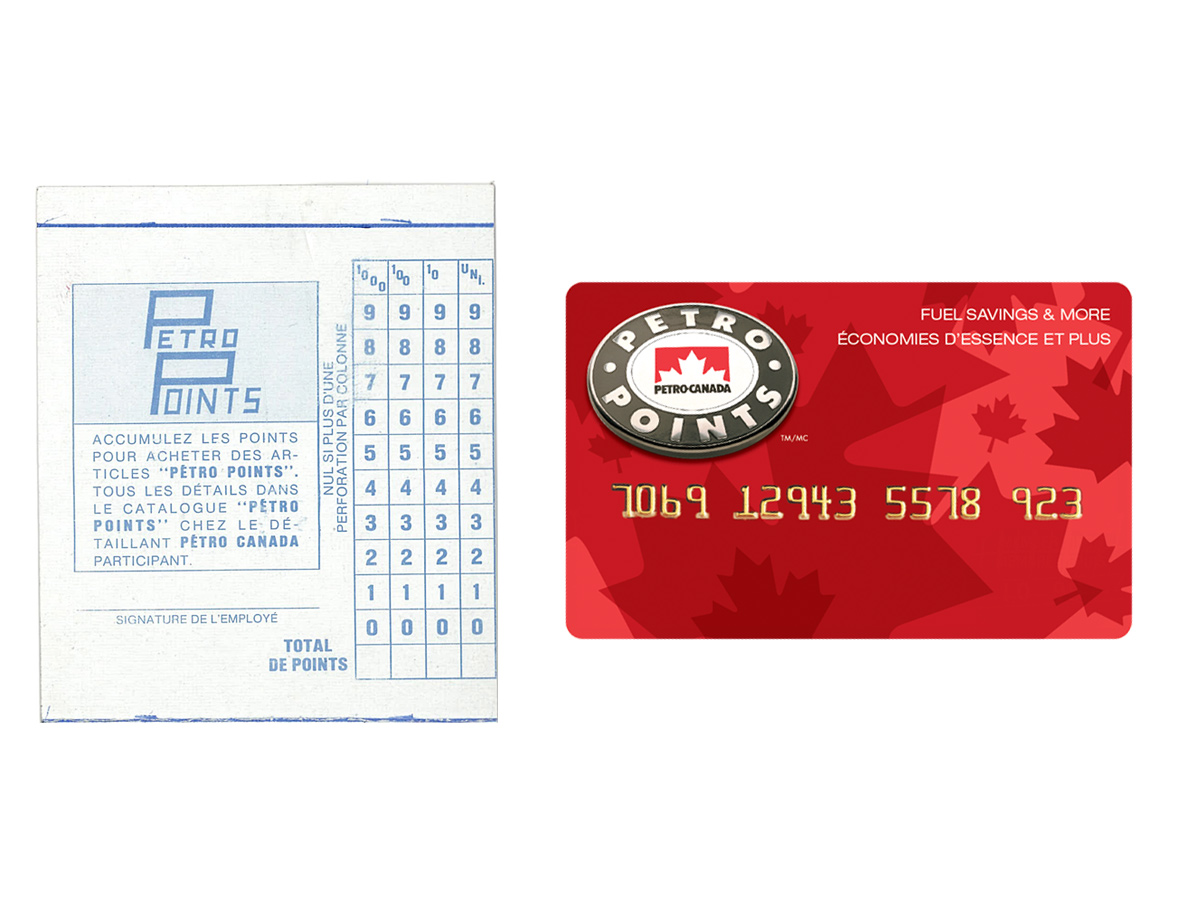 Petro-Points Cards